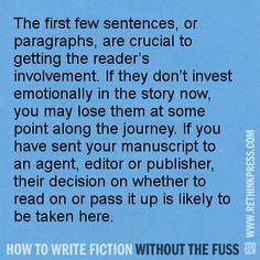 How to write fiction books