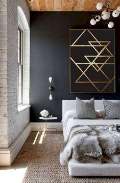 76+ Fantastic Minimalist Bedroom Decor Ideas #bedroom #decor #Fantastic #ideas #minimalist