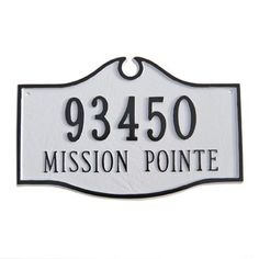 You'll love the Estate 2-Line Address Plaque at Wayfair - Great Deals on all Outdoor products with Free Shipping on most stuff, even the big stuff.