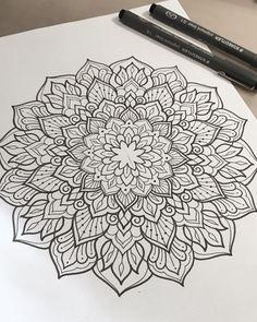 Hand drawn. Always  #art #design #penandink #handdrawn #sketch #instafineliner #mehndi #mehnditattoo #mandala #mandalatattoo #lineart #tattooart #domholmestattoo #theblacklotusstudio #iblackwork #instaart #blxckmandalas #beautiful_mandalas #flashaddicted