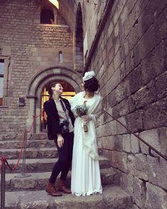 Bride & her photographer Martina Zancan in Barcelona