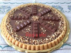 Crostata morbida Nutella e Kinder
