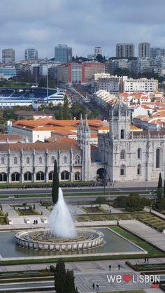 Mosteiro dos Jerónimos. Lisbon Património Mundial pela UNESCO.