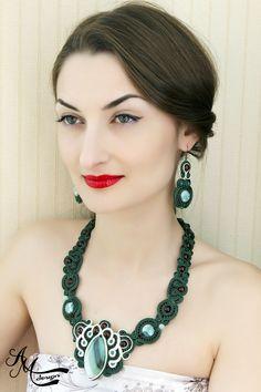 Soutache jewelry by AMDesign