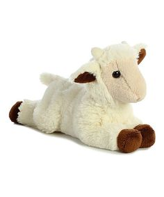 You'll love Little Billy the Stuffed Goat Kid Mini Flopsie by Aurora like a farmer loves a dell! Personalize this plush goat kid at Stuffed Safari! Kids Part, Plush Animals, Stuffed Animals, Stuffed Goat, Cuddle Buddy, Grey Dog, Baby Goats, Pet Carriers, Plushies
