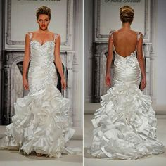 "YAHOO: Photo by: Courtesy of designer Runner-Up: Pnina Tornai Style 4278 from Pnina Tornai pulls out all of the stops: ""This is the dress I want to be wearing on my wedding day - very gorgeous!"" says Caitlin A. Check out more gorgeous dresses in our Pnina Tornai gown gallery!"