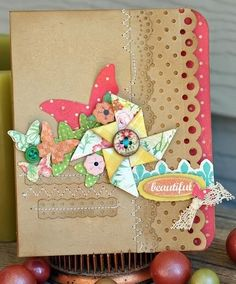 Create: 3+ Border Punches CARDS Challenge Gallery - many great border punch ideas - too many to pin them all