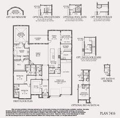 Plan 7416 1st Floor Plan