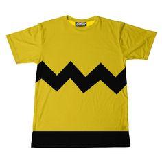 #Peanuts: Charlie Brown's t-shirt.