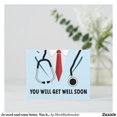 Good Luck Cards, Good Luck To You, Card Tattoo, Get Well Soon, Custom Greeting Cards, Personal Photo, Zazzle Invitations, Artwork Design, Wells
