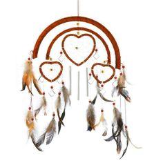 Southwestern Home Decor Garden Heart Shaped Dream Catcher Wind Chime Great Gift #GiftsDecor
