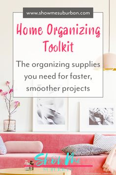 A successful organizing project starts with the right tools for organization. Learn essential organizing tools, plus simple tips and tricks to make the best use of each organizing tool! Organizing Tools, Game Organization, Entryway Organization, Laundry Room Organization, Organized Entryway, Organized Bedroom, How To Organize Your Closet, Family Organizer, Cool Tools