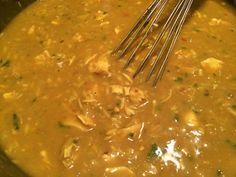 Ben je ook zo gek op kerrie? Een heerlijke kerriesaus bij de rijst of over de bloemkool? Probeer dan ook eens deze verrukkelijke kerriesoep....