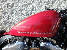 """Used 2013 Harley-Davidson Sportster® Forty-Eight® Motorcycles For Sale in Ohio,OH. With a fat front tire and steel peanut tank, this low-slung urban brawler is ready to rip through any scene. The 2013 Harley-Davidson® Sportster® Forty-Eight® model XL1200X is one of the garage custom motorcycles in the Harley® Dark Customâ""""¢ line. This bike cruises down the road with a 1200 cc Evolution® engine – an engine with a true Harley-Davidson soul. New for 2013, the Harley-Davidson…"""