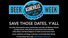 Asheville Beer Week 2015 - May 22-30, 2015