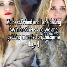 Best friends dating twins