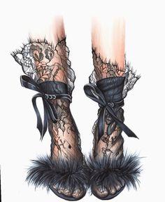 Most Popular Fashion Sketches Dresses Design Art 68 Ideas Art And Illustration, Fashion Illustration Shoes, Illustrations, Dior Fashion, Fashion Wall Art, Face Fashion, Fashion Design Drawings, Fashion Sketches, Fashion Drawing Dresses