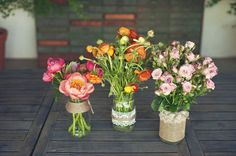 floreritos rusticos