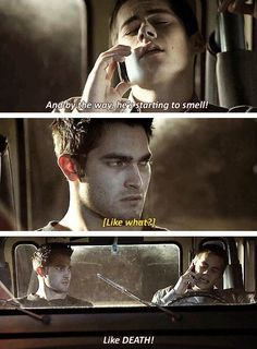Derek's face made me laugh so much.