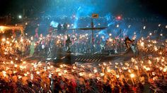 Do you dream of marching with Vikings, eating whole legs of lamb, and setting ships on fire to send out to sea? If these activities peak your interested, then this Viking festival is everything you want.   Set in Shetland, Scotland, this festival celebrates all things related to Viking culture. T...