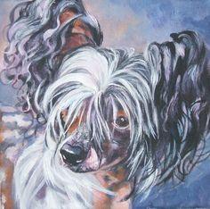 Hey, diesen tollen Etsy-Artikel fand ich bei https://www.etsy.com/de/listing/66012265/chinesischer-schopfhund-kunst-leinwand