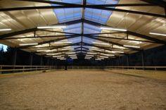 equestrian indoor arena