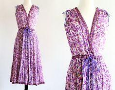 Vintage 70s Adini Rare India Dress