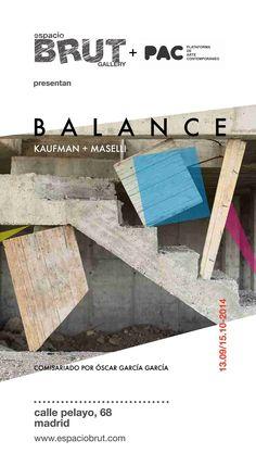 BALANCE: KAUFMAN   MASELLI en espacioBRUT