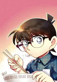 Ramen my life Conan Movie, Detektif Conan, Detective, Anime Guys, Manga Anime, Kaito Kid, Kudo Shinichi, Magic Kaito, Case Closed