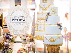 Wedluxe Bridal Show 2014 Fine Cakes by Zehra Wedding Cakes