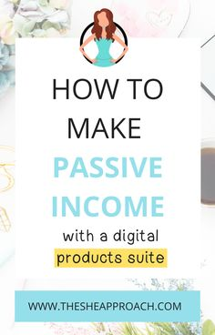 How to make passive income with a digital products suite. As a blogger, there are tons of ways you can package your content and help your audience. From affiliate marketing, ebooks, worksheets, ecourses and so on there are a ton of digital products you can create and sell to generate passive income. Click over to find out how! #makemoneyblogging #passiveincome #affiliatemarketing via @thesheapproach