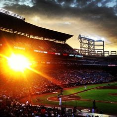 Every night is a beautiful night for baseball at Turner Field.