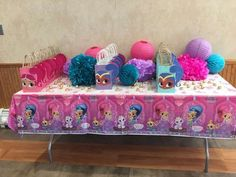 Riley\'s First Shimmer and Shine Birthday Divine!   CatchMyParty.com