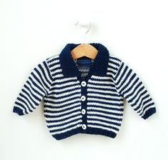 Or this dapper little number. | 15 Impossibly Adorable Knitting Patterns For The Baby In Your Life