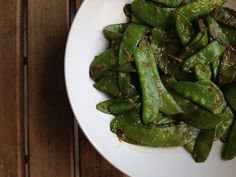 Recipe of the Day: Quick Stir-Fried Snow Peas or Sugar Snap Peas