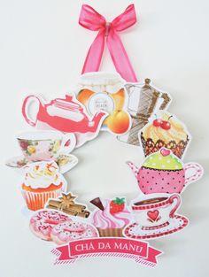 >>> Guirlanda Chá de Panela