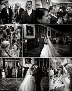 Black and white first dance images via nealejames.com