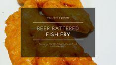 Beer Batter Fish Fry Deep Fried Fish Batter, Fish And Chips Batter, Best Fish And Chips, Fish Dinner, Seafood Dinner, Beer Batter Recipe, Fish Tacos With Cabbage, Beer Battered Fish, Fried Fish Recipes