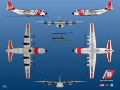 The Lockheed HC-130 is an extended-range, search and rescue (SAR) and Combat search and rescue (CSAR) version of the C-130 Hercules transport. The HC-130H and HC-130J versions are operated by the U...