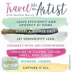 Cynthia Morris Travel Like an Artist manifesto