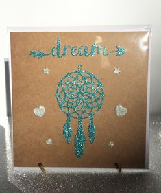 Dream catcher card ☸️ by The Handmade Company Dream Catcher, Unique Jewelry, Handmade Gifts, Cards, Etsy, Kid Craft Gifts, Dreamcatchers, Handcrafted Gifts, Hand Made Gifts