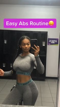 Slim Thick Workout, Slim Waist Workout, Flat Belly Workout, Butt Workout, Wall Workout, Gym Workout Videos, Gym Workout For Beginners, Fitness Workout For Women, Gym Workouts