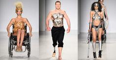 Personal trainer Jack Eyers se tornou o primeiro modelo deficiente físico da Semana de Moda de Nova York