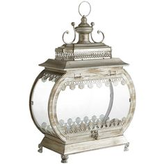 Terrarium Lantern - Silver from Pier1 on shop.CatalogSpree.com, your personal digital mall.