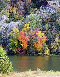 Autumn in Virginia Mountains