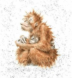 Wrendale Designs by Hannah Dale Sunshine Greeting Card - Set of Three Watercolor Paintings Of Animals, Animal Paintings, Animal Drawings, Watercolor Art, Different Forms Of Art, Wrendale Designs, Vintage Artwork, Cute Art, Illustrators