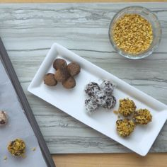Healthy Recipe: Cocoa-Date Truffles. These bite-sized cocoa-date truffles feel indulgent but thanks to a secret ingredient or two, they are actually full of protein and low in calories and fat. They're simple to make and great to share.