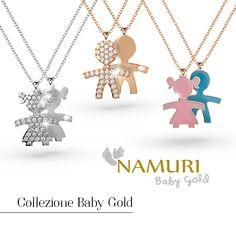 Namuri Baby Gold - Un gioiello prezioso, come l'amore di una Mamma. Scopri le collezioni su https://cazzanigagioielli.itcportale.it/