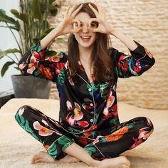 1389 Best Women s Silk Sleepwear images in 2019  bb9891f4b