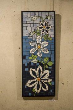 Mosaic Blue Flowers, Decorative Boxes, House, Home Decor, Ideas, Mosaic Artwork, Mosaics, Homemade Home Decor, Home